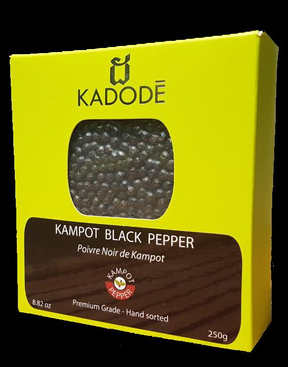 Poivre Noir de Kampot 250g