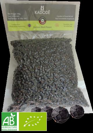 Poivre Noir de Kampot BIO 1kg