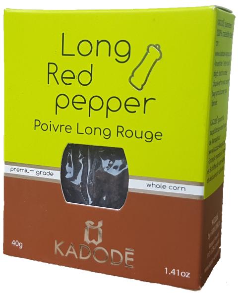 Poivre Long Rouge 40g